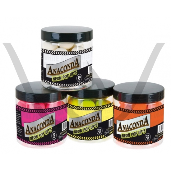 Anaconda Neon Pop Ups 20mm Gelb