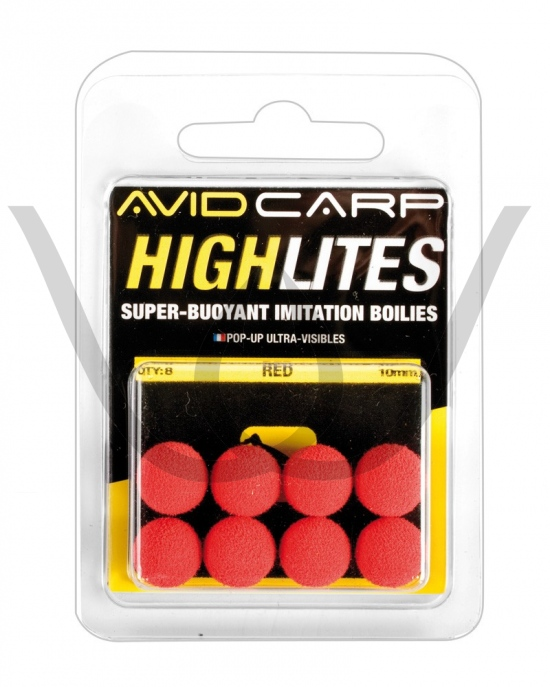 Avid Carp High Lites 10mm Black