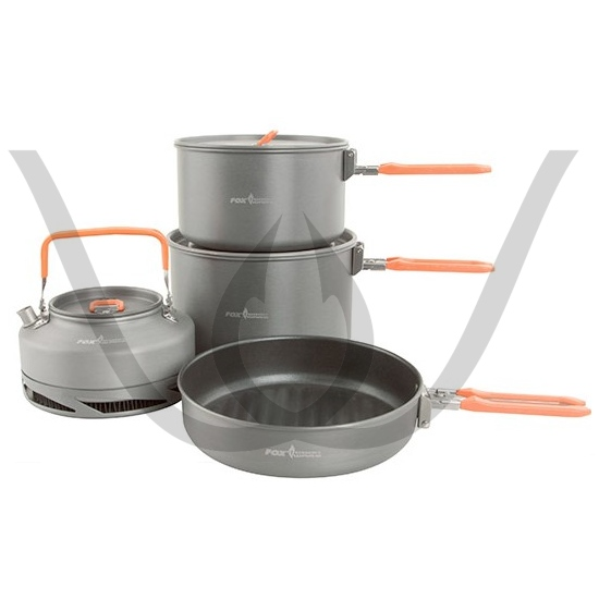 Fox Cookware Set Large - 4 Teile