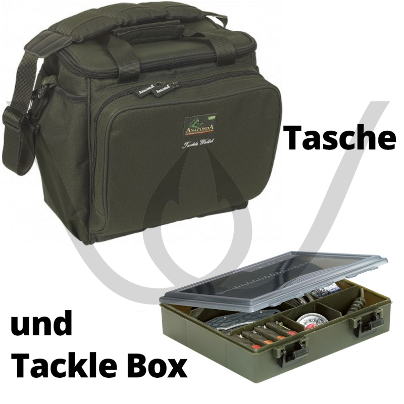 Anaconda Tackle Wallet inkl. Tackle Chest Medium Box