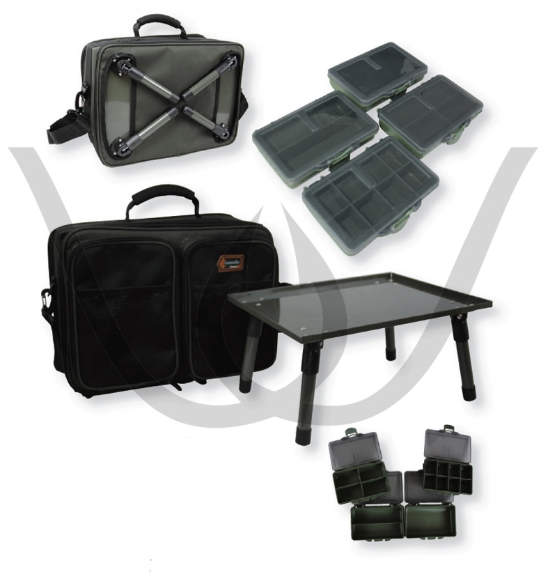 ProLogic Cruzade Rig Station - inkl. Bivvy Table
