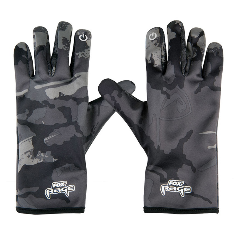 Fox Rage Thermal Camo Gloves M