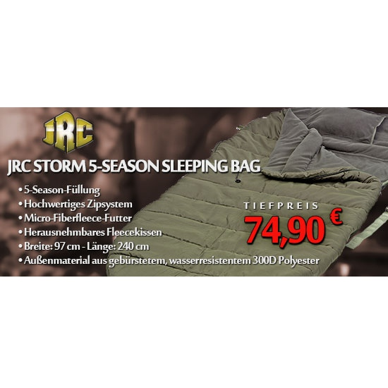 JRC Storm 5 Season Sleeping Bag